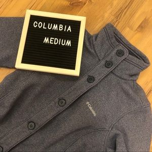 Columbia Jacket Size Medium Grey/Navy Blue Colour